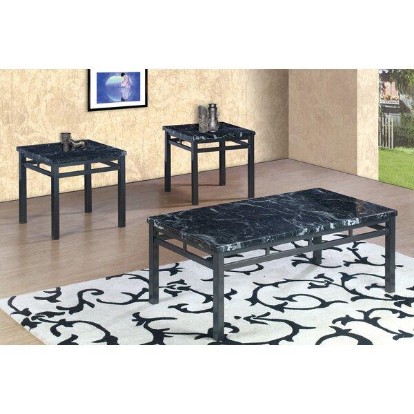 Mccaulley 3 Piece Coffee Table Set by Charlton Home Charlton Home®