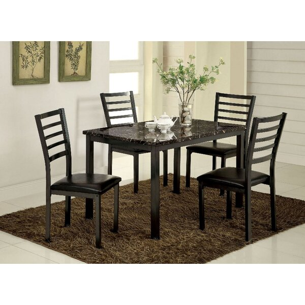 Colman 5 Piece Dining Set by Williams Import Co. Williams Import Co.