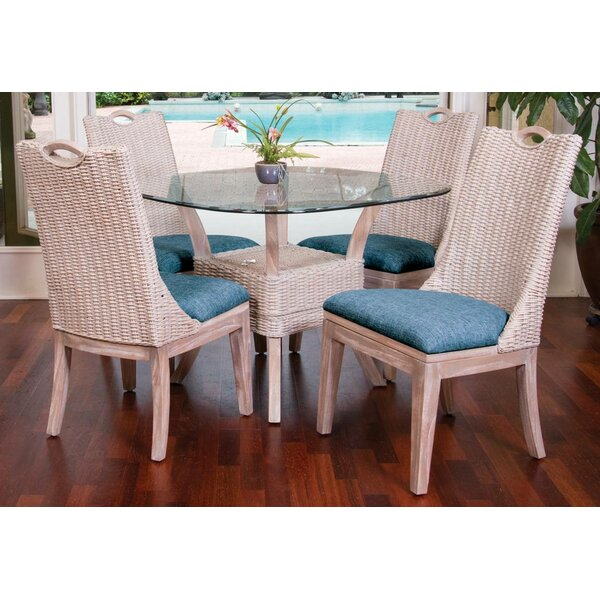 Valle 5 Piece Dining Set by Bayou Breeze Bayou Breeze