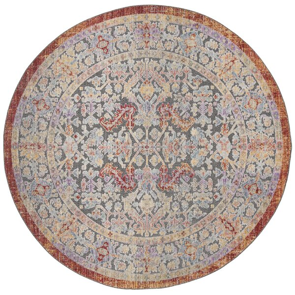Best Price Pounds Creamblue Area Rug By World Menagerie δ