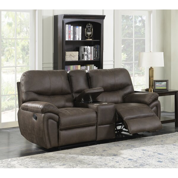 Weekend Promotions Quance Reclining Loveseat by Winston Porter by Winston Porter