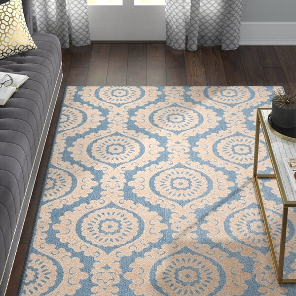 Mira Blue Outdoor Area Rug by Willa Arlo Interiors
