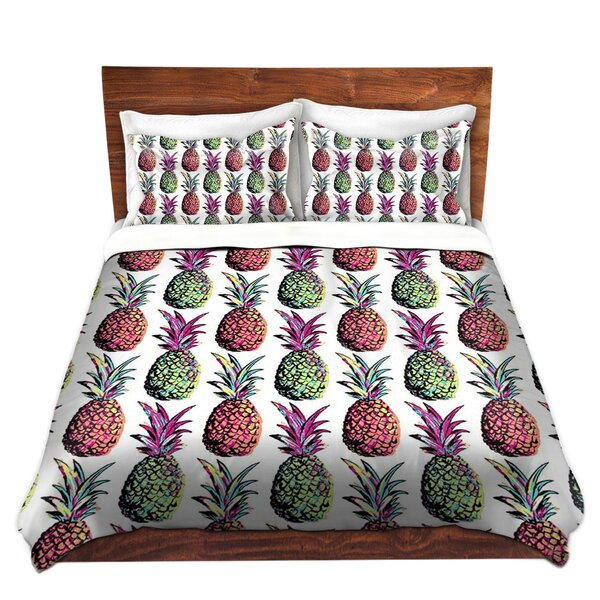 Pineapple Party Duvet Cover Set