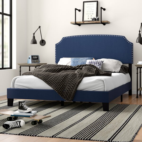 Thornaby Upholstered Standard Bed by Three Posts Teen