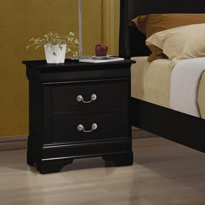 Alcott hill northampton 2 drawer nightstand reviews for Furniture northampton