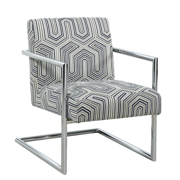 Armchair and Ottoman by Scott Living