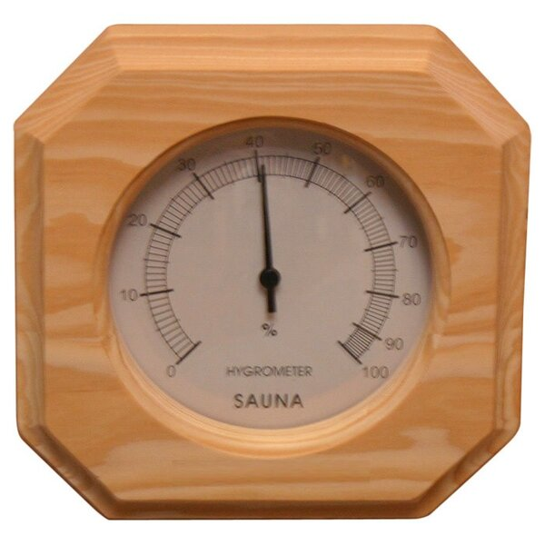 Deluxe Hygrometer by Baltic Leisure