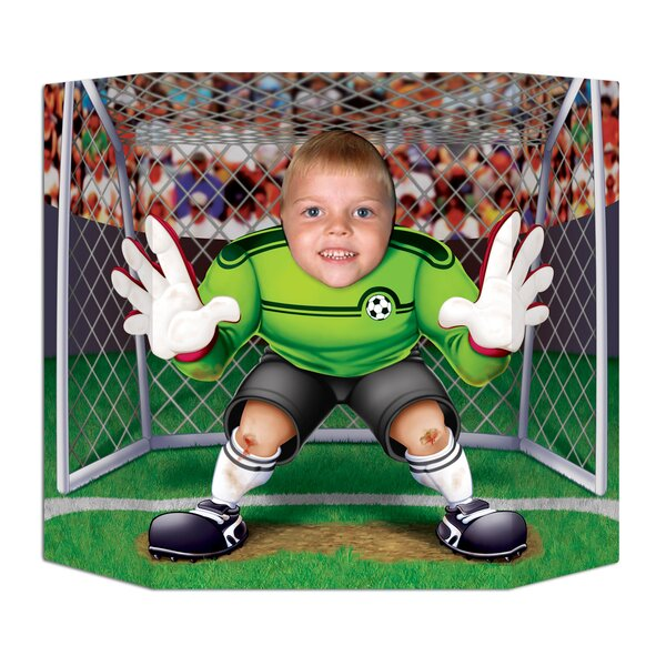 Soccer Photo Prop Standup by The Beistle Company