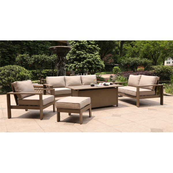 Otega 6 Piece Sofa Set with Cushion by Orren Ellis