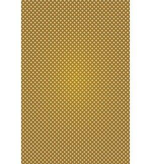 Jaylin Elegant Cross Design Brown/Cream Indoor/Outdoor Area Rug by George Oliver