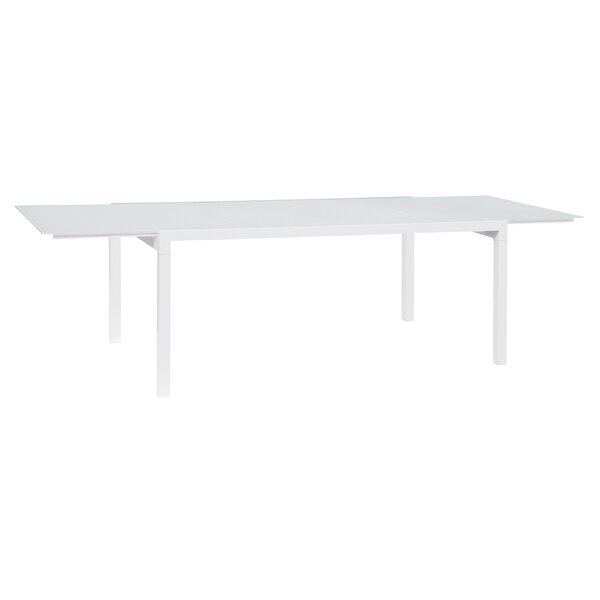 Santistevan Glass Dining Table By Orren Ellis