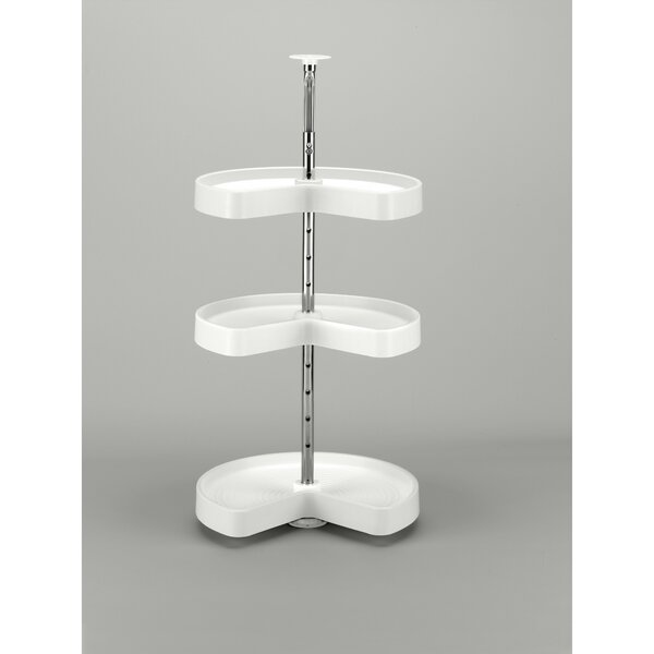 Polymer Kidney 3 Shelf Lazy Susan by Rev-A-Shelf