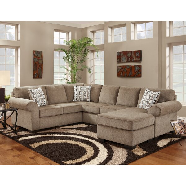Melvina Reversible Sectional by Red Barrel Studio