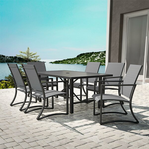 Macleod 7 Piece Dining Set by Ebern Designs