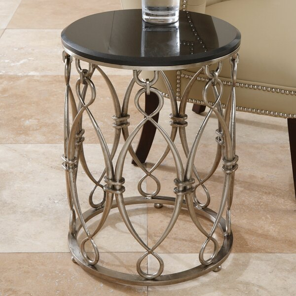 Bow Loop End Table by Global Views