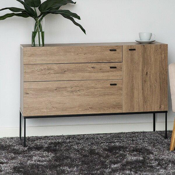 Deshaun 3 Drawer Combo Dresser by Union Rustic