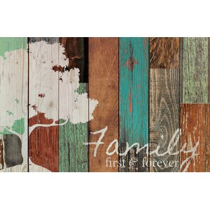 'Family' Textual Art on Wood by Andover Mills