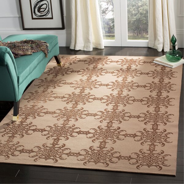 Martha Stewart Tracery Rose/Wood Area Rug by Martha Stewart Rugs