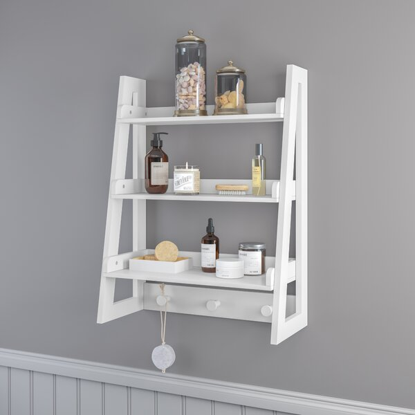 Ilovici Ladder Wall Shelf by Ebern Designs