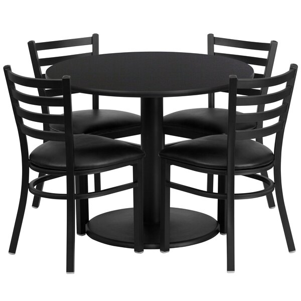 Neelam 5 Piece Dining Set by Red Barrel Studio