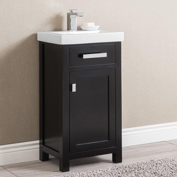 Knighten 17.3 Single Bathroom Vanity Set by Zipcod
