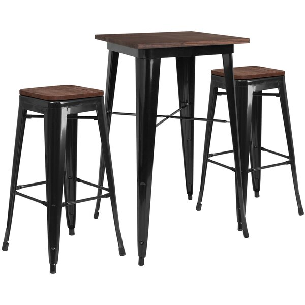 Primmer 3 Piece Pub Table Set by Williston Forge