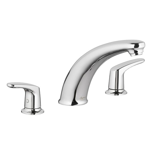 Colony Pro Double Handle Deck Mounted Roman Tub Faucet Trim By American Standard