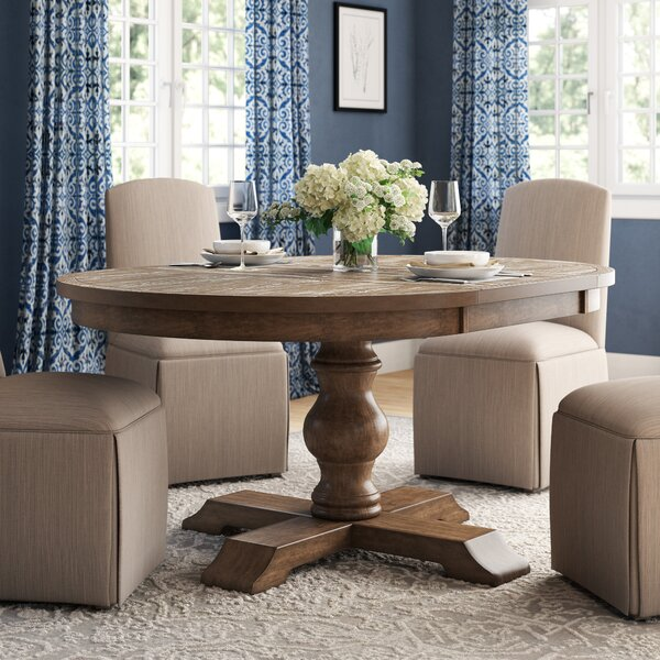 Fortunat Extendable Dining Table by Laurel Foundry Modern Farmhouse