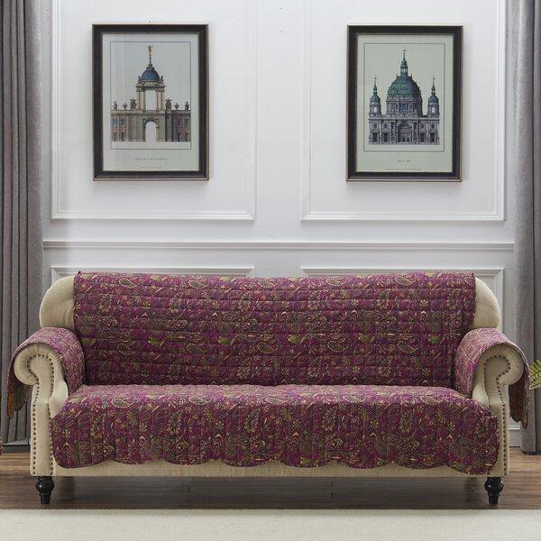 Reich Box Cushion Sofa Slipcover By August Grove