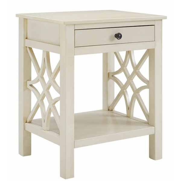 Albritton End Table with Storage by Ophelia & Co. Ophelia & Co.