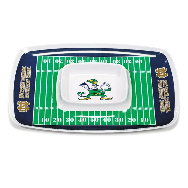 NCAA Melamine Chip and Dip Platter by BSI Products