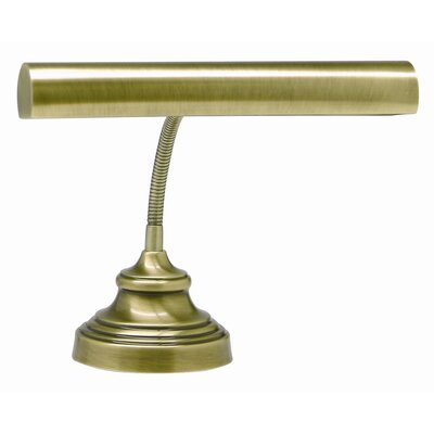 "Charlton Home Ola Piano 12.5"" Table Lamp Finish: Antique Brass"