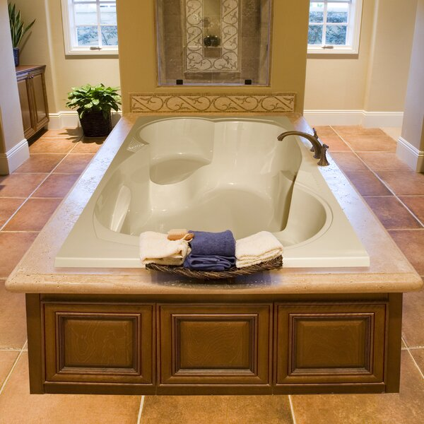 Designer Makyla 75 x 48 Air Tub by Hydro Systems