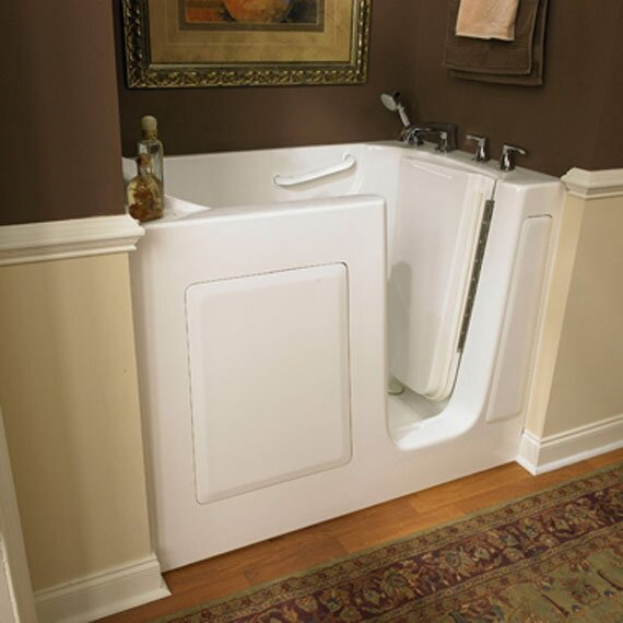 50.5 x 30.5 Gelcoat Right Hand Walk-In Air Spa by American Standard