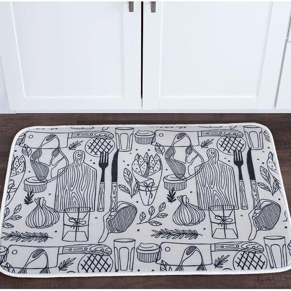 Witte Cutting Board Foam Core Bath Rug by Winston Porter