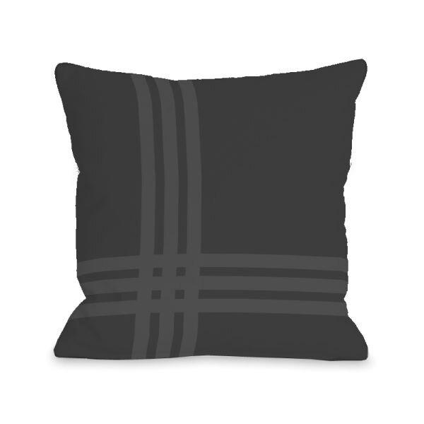 Plaid Throw Pillow by One Bella Casa