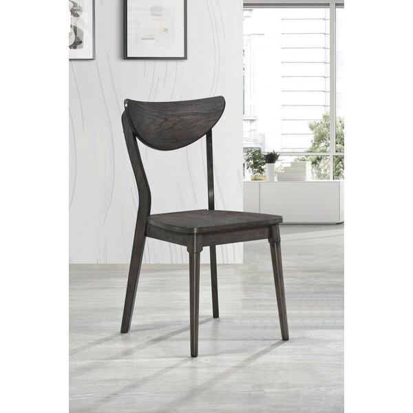 Keomi Side Chair In Dark Gray By Corrigan Studio
