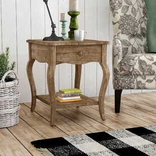 Francoise End Table With Storage