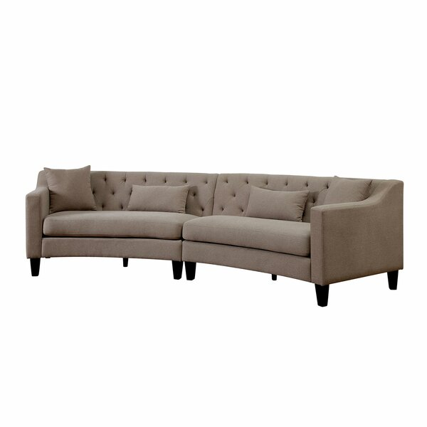 Carissa Sectional by Alcott Hill