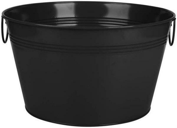 Smalls Galvanized Round Metal Beverage Tub by August Grove