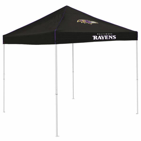 Colored 9 Ft. W x 9 Ft. D Steel Pop-Up Canopy by Logo Brands