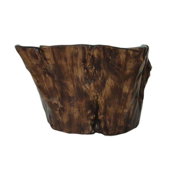 Decorative Wood Look Table Vase by Loon Peak