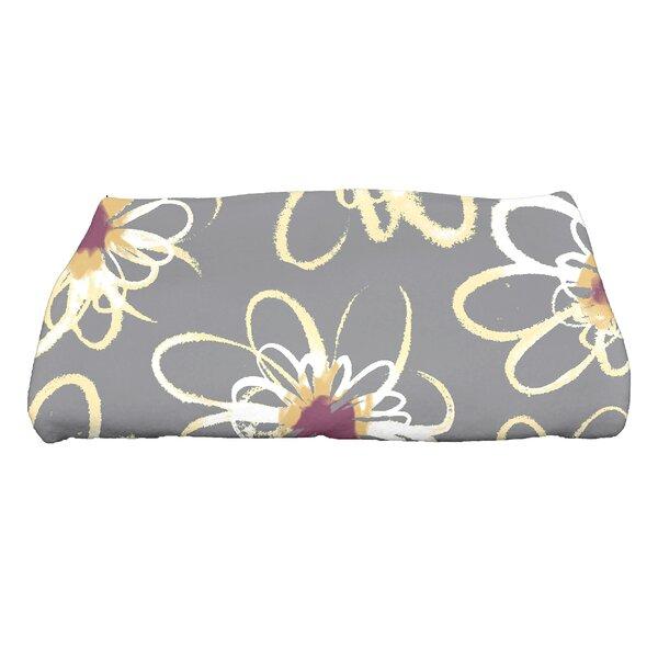 Floral Print Bath Towel by Latitude Run