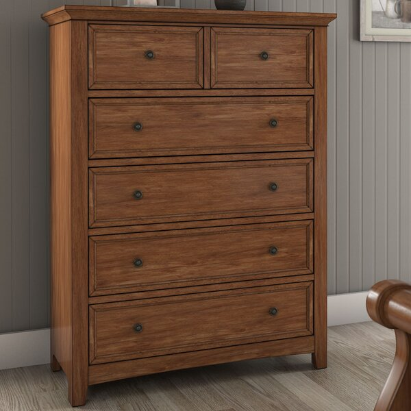 Woodside 5 Drawer Dresser by Three Posts