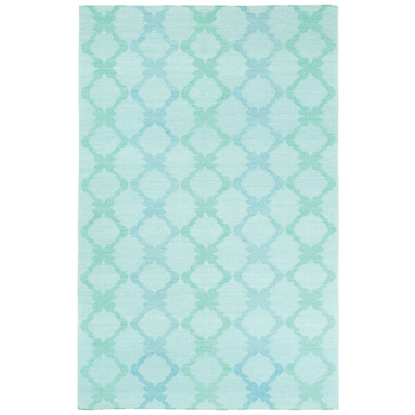Coastline Light Green Trellis Area Rug by Capel Rugs