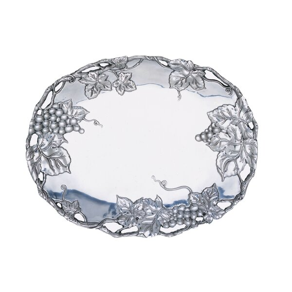 Grape Oval Platter by Arthur Court Designs