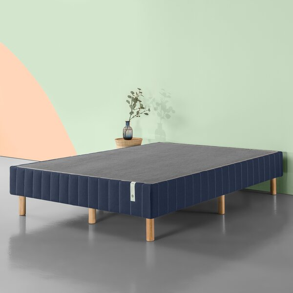 Fishel Standing Metal Mattress Foundation by Latit