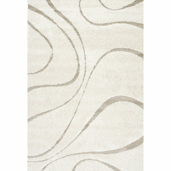 Helgeson Cream/Tan Area Rug by Wade Logan
