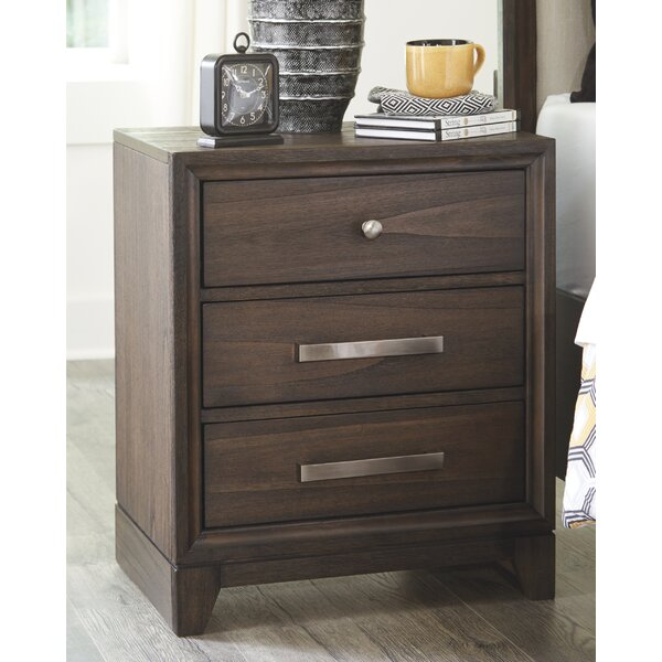 Fairmount 3 Drawer Nightstand by Foundry Select