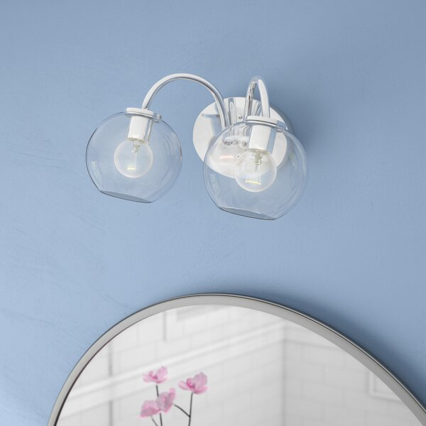 Carnkirn 2-Light Vanity Light by Langley Street